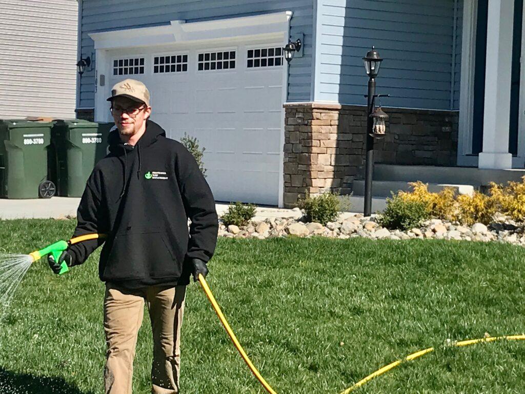 Prestigious Turf Management - Yorktown VA - Fertilizer - weed control - soil test