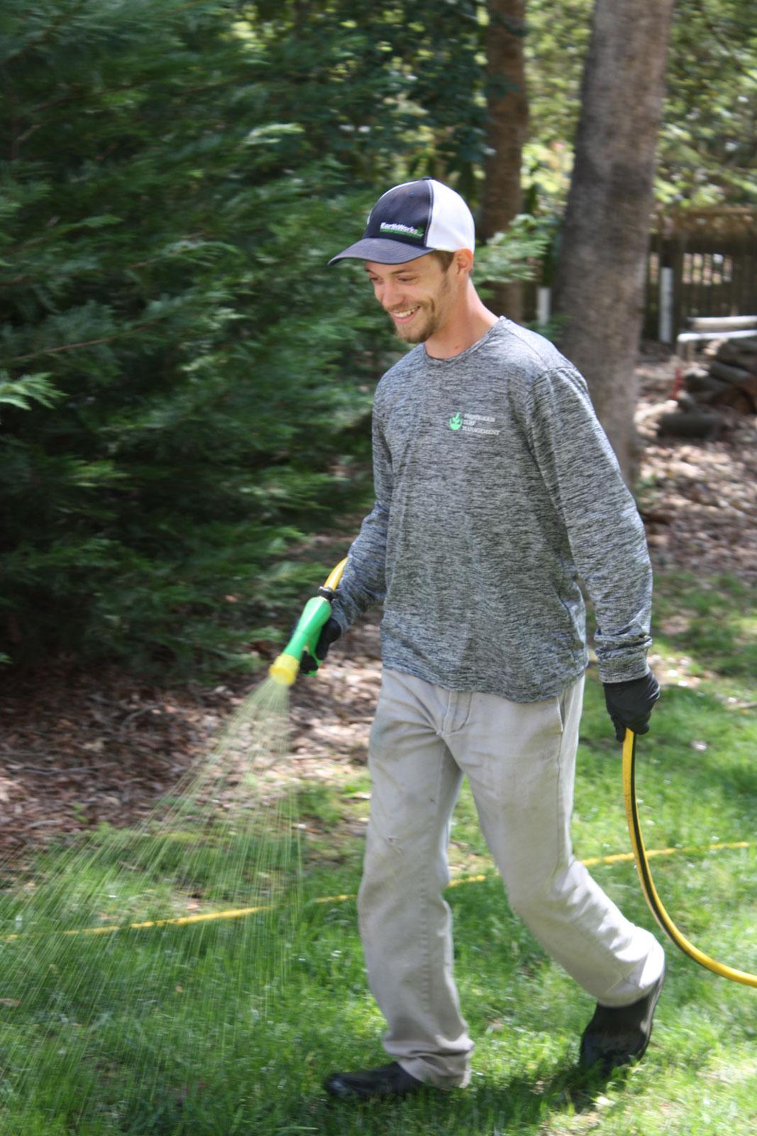 Prestigious Turf Management - Weed Control spraying - Yorktown, Newport News, Williamsburg