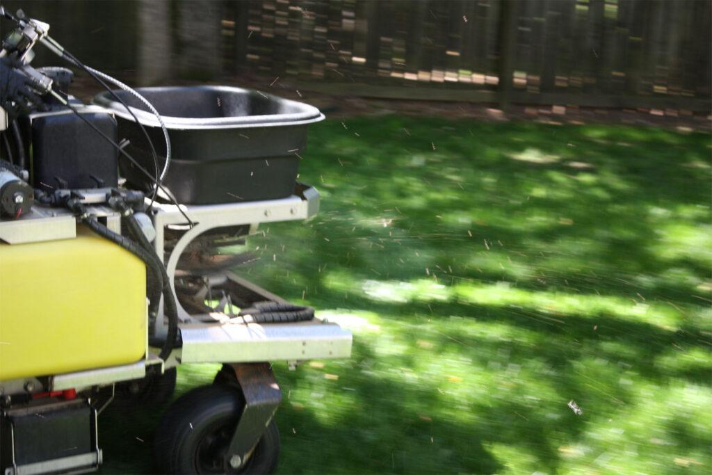 Z-Machine Lawn applications by Prestigious Turf Management - Yorktown Virginia