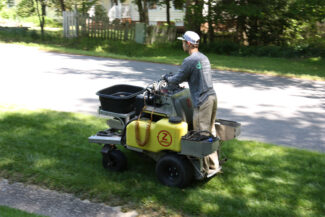 Z-Machine Lawn applications by Prestigious Turf Management - Yorktown Virginia